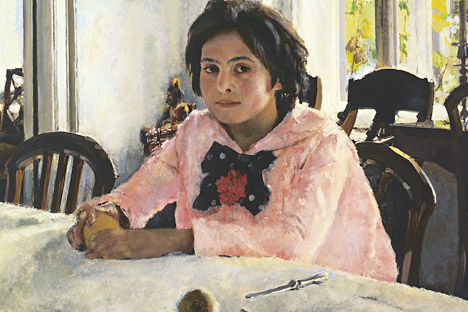 Portrait of Vera Mamontova. 1887. Oil on canvas. The Tretyakov Gallery, Moscow. Source: Wikipedia.org