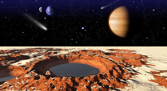 La sonda Curiosity, che opera insieme al dispositivo russo Dan, continua a cercare segni di vita sul Pianeta Rosso