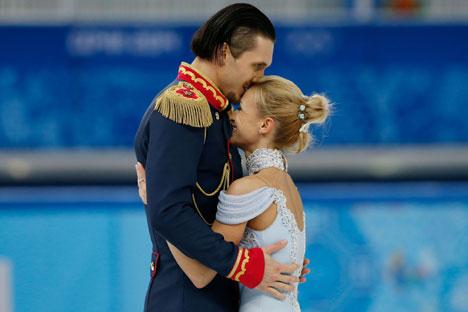 タチヤナ・ボロソジャルとマクシム・トラニコフ