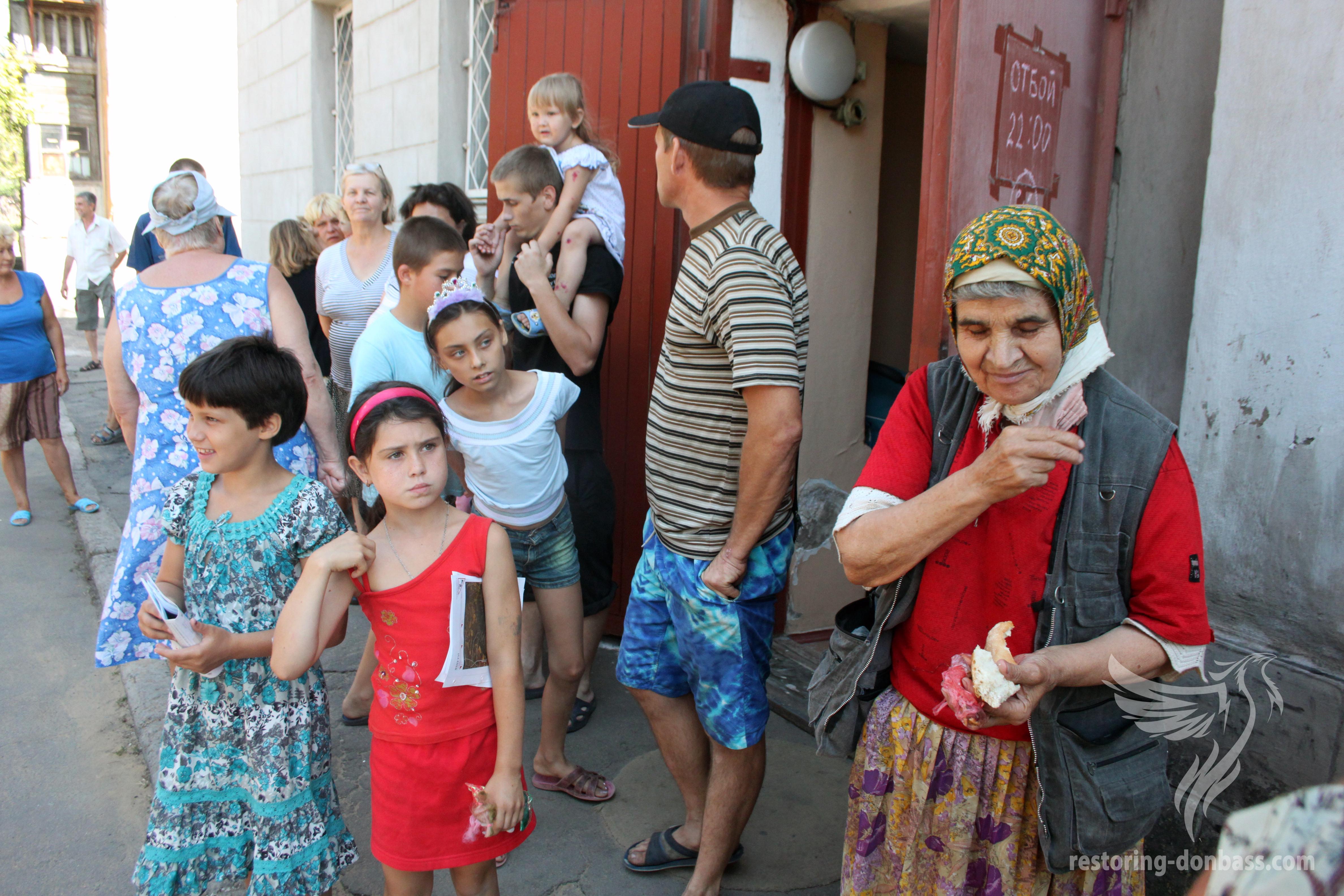 Над 500 000 донецки бежанци са се завърнали в родната Донецка народна република (ДНР) през 2015 година.