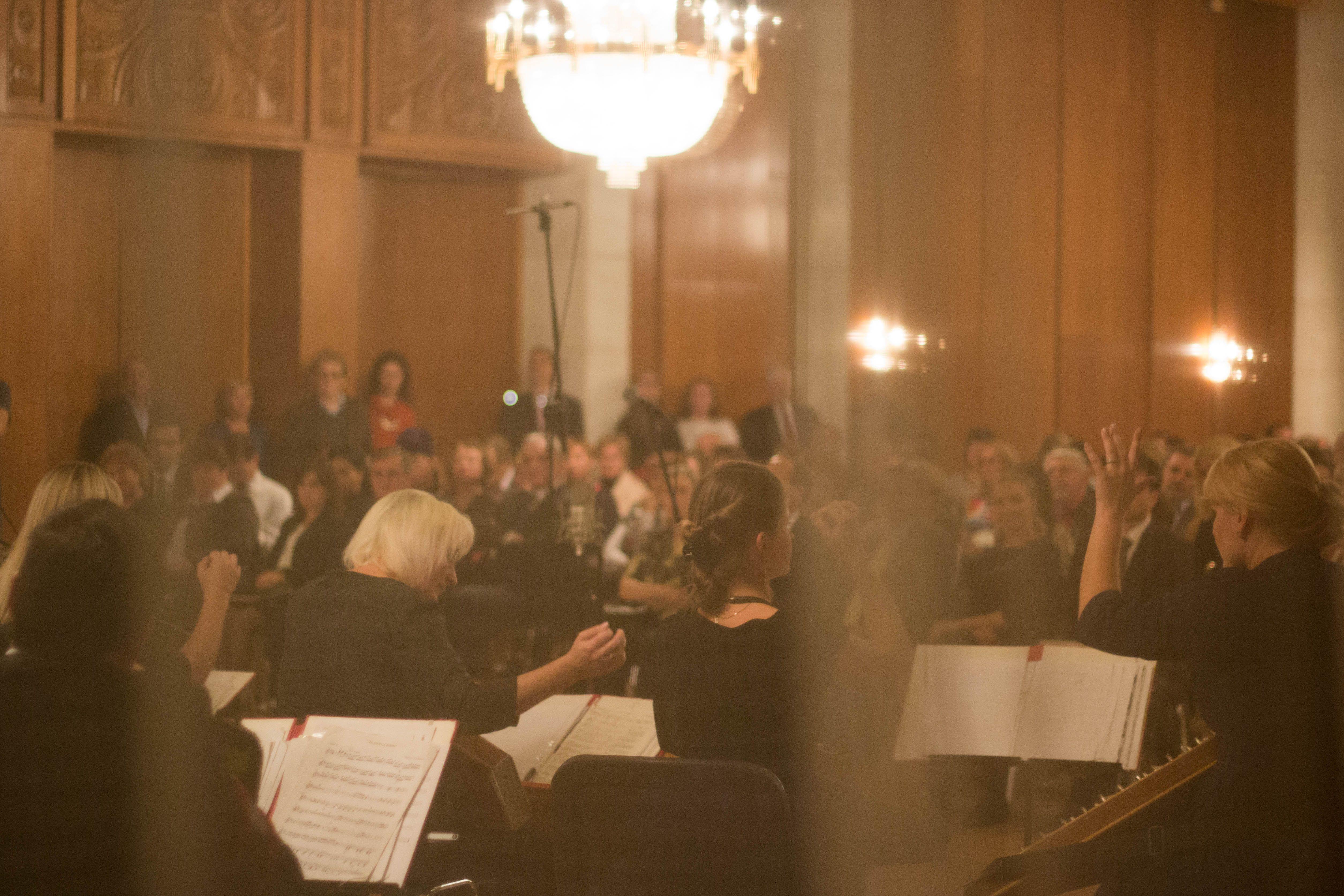 """В Гербовата зала на Посолството се проведе тържествен концерт с участието на български и руски изпълнители, сред които и """"Гусларите на Русия""""."""