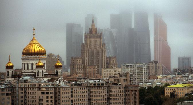 Il memorandum di cooperazione è stato firmato a Mosca. Nella foto, uno scorcio della capitale russa, dove sono molte le imprese italiane che lavorano attivamente nel mercato.
