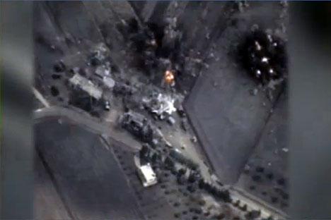 La Russie a lancé une opération militaire contre l'État islamique.