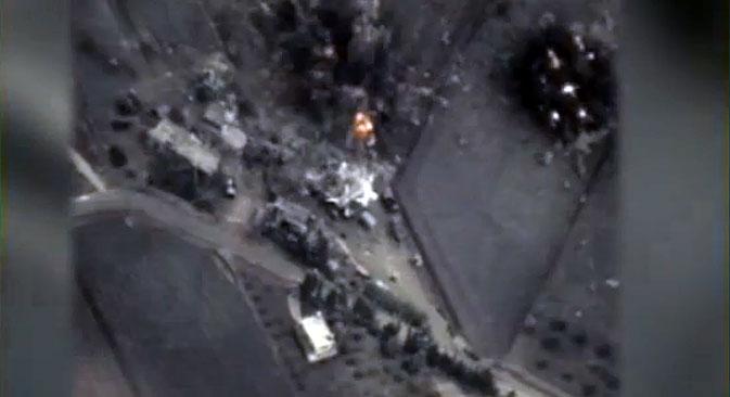 """Außenminister Sergej Lawrow weist Vorwürfe der USA über angeblich falsche Angriffsziele zurück, schreibt die Zeitung """"RBK""""."""