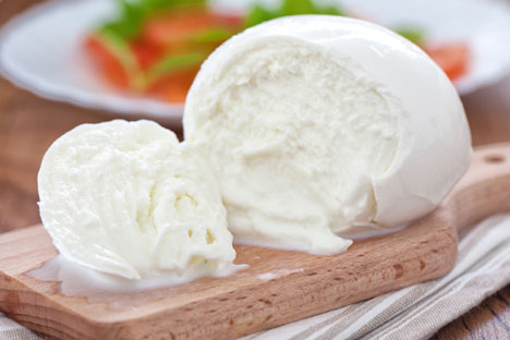 """Altai mozzarella"" has been developed by scientists at the Siberian Scientific Institute of Cheese-making. Shutter Stock/Legion Media"