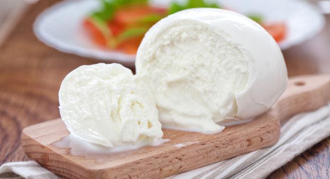 Mozzarella prodotta in Russia