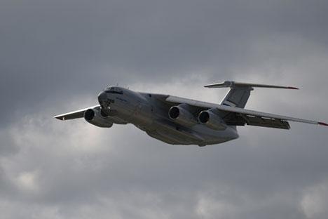 IL-76MD-90A na aero showu MAKS-2013. u okolici Moskve
