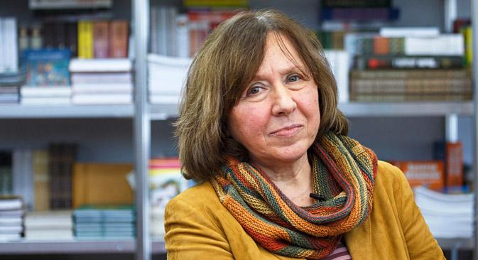 Obras de Alexievich nunca foram editadas no Brasil
