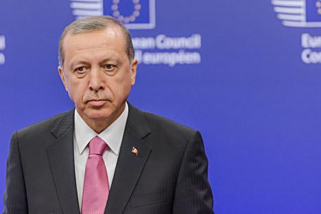 Presiden Turki Recep Tayyip Erdoğan