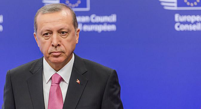 Turkish President Recep Tayyip Erdogan. Source: ZUMA/TASS