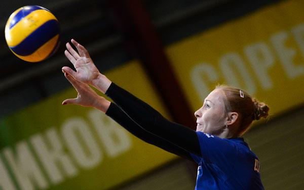 La pallavolista Anna Malova