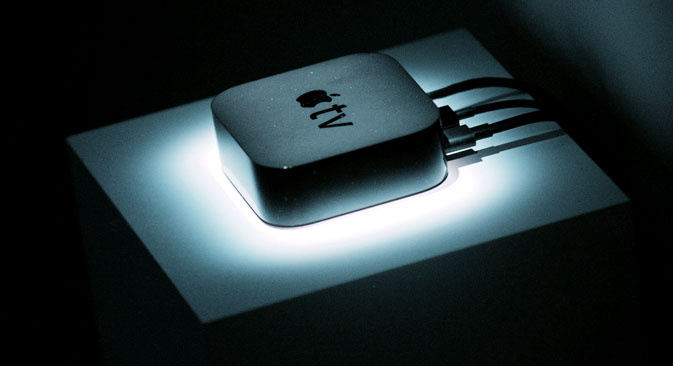 What is the future for Apple TV in Russia? Source: Reuters