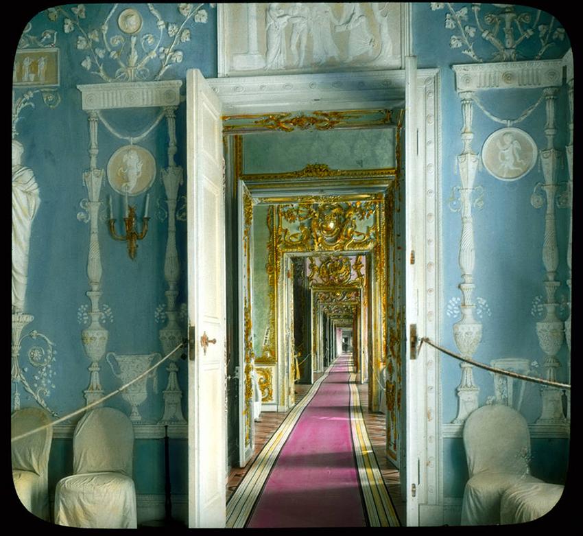 Sobe v Katarinini palači v mestu Puškin, 1931.