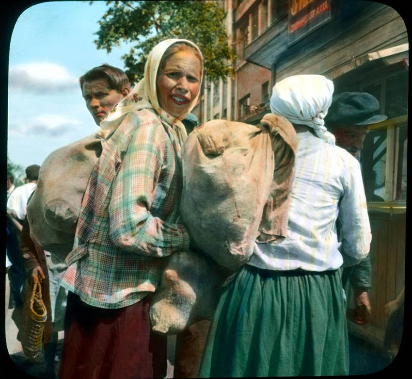 Kmetje v Leningradu, 1931.
