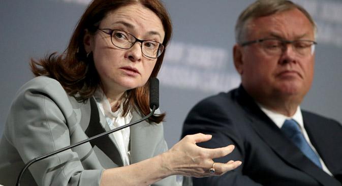 Ръководителката на Руската централна банка Елвира Набиулина заяви, че в условията на водената от регулатора умерено твърда парично-кредитна политика икономически растеж може да бъде постигнат още в края на 2016 година.