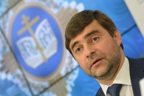 Заменик-претседателот на Државната дума на Руската Федерација Сергеј Железњак.