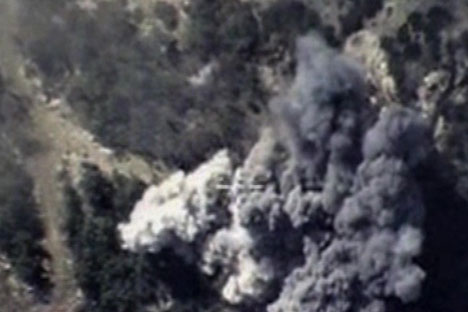 Руски авиони бомбардују ИД у Латакији.