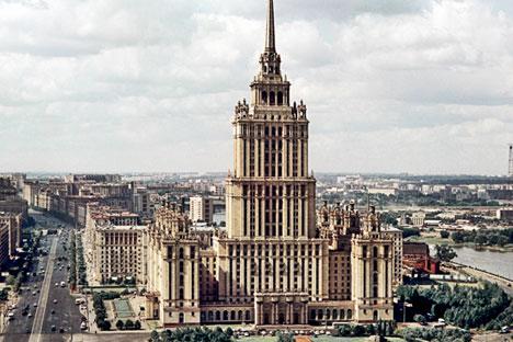 「ウクライナ」ホテル=
