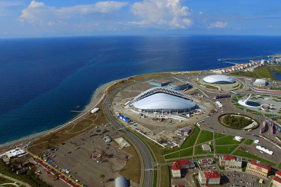 The Sochi Olympic Park.