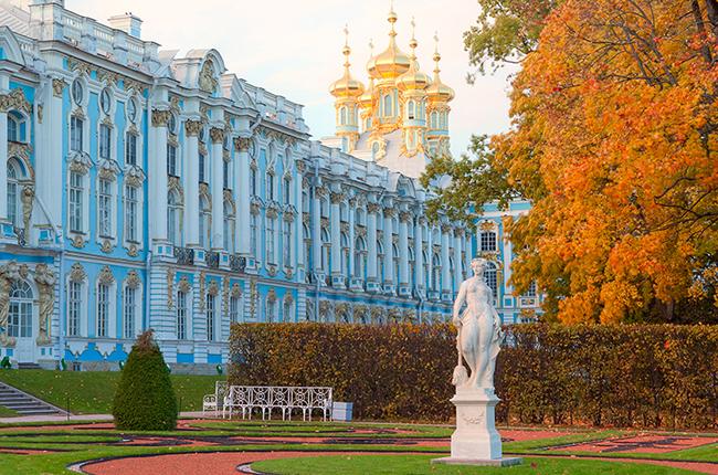 Резултат с изображение за екатерининския дворец