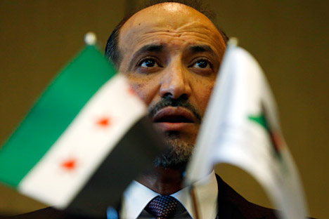 Syrian opposition leader Ahmad al-Jarba. Source: Reuters