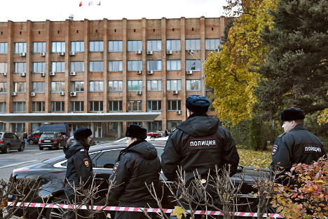 The murder may be linked to the fact that the officials may have prevented the killer from implementing four projects estimated at nearly $60 million. Source: Kommersant