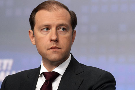 Minister of Industry and Trade Denis Manturov will lead the Russian delegation at IESS. Source: RIA Novosti/Evgeny Biyatov
