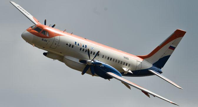 Ilyushin Il-114 short-haul plane.