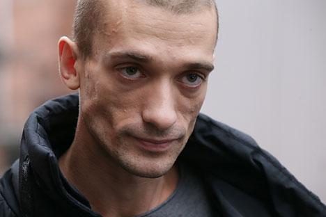 Pyotr Pavlensky.