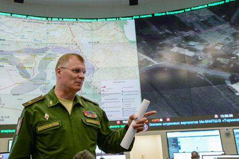 """Em coletiva, Konachenkov destacou que documento deve englobar """"todos os países da coalizão anti-Estado Islâmico"""""""