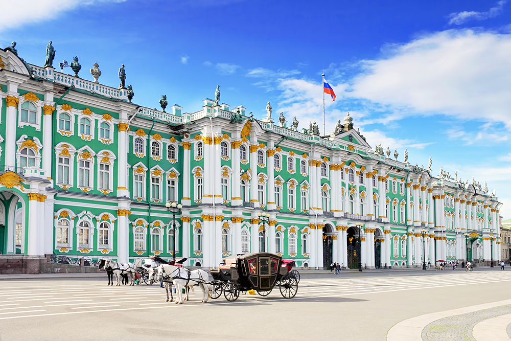 The Hermitage. One of the finest museums in Europe? Mainstream. Not lovin' it.