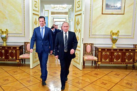 Преговорите межу Путин и Асад завариха САЩ и техните съюзници неподготвени.