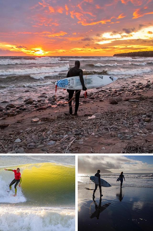 @surfholidays  ロシアからでも熱帯の島からでも、サーフィンに関するあらゆる写真を扱っている。サンクトペテルブルク、カムチャツカ、北極圏、カリーニングラードや千島列島でサーフィンをしたことがあるセルゲイ・ラッシヴァエフ氏は、まぎれもないサーフィン通だ。