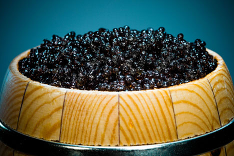 Highway patrol police officers have seized 500 kg of caviar.