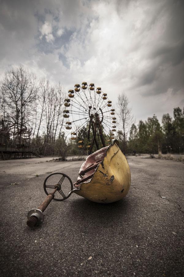 Kot raj za otroke so si zamislili tudi panoramsko kolo v Pripjatu, vendar je to postalo simbol za pekel na zemlji. Kolo je bilo tiha priča jedrske katastrofe v Černobilu in ga nikoli niso uporabili. Njegovo slavnostno otvoritev so praznovali za mednarodni praznik delavcev 1. maja 1986, kar je bilo le nekaj dni po tragediji.