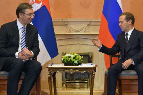 Вучић и Медведев у Москви, 27.10.2015.