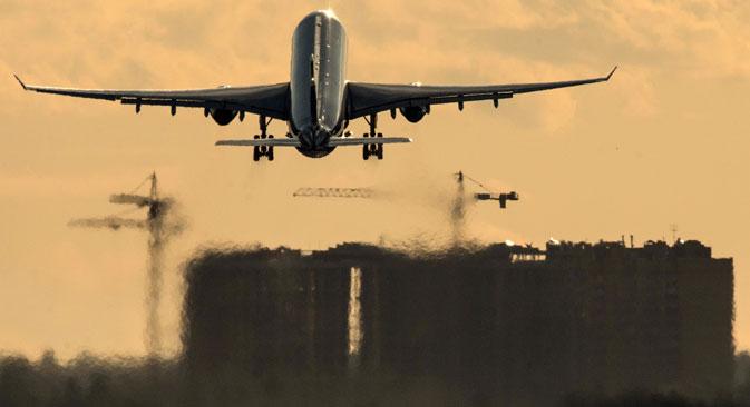 Secondo le stime di Aviasales, in un mese sulla rotta Mosca-Kiev si sono registrati circa 100mila passeggeri
