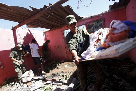Rusia menyumbangkan 1,5 juta dolar AS (19,93 miliar rupiah) untuk membiayai program pemulihan dari PBB di Kuba.
