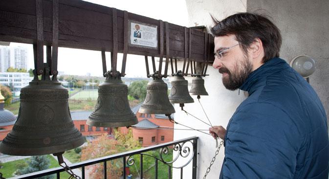 Звънар е уникална руска професия.