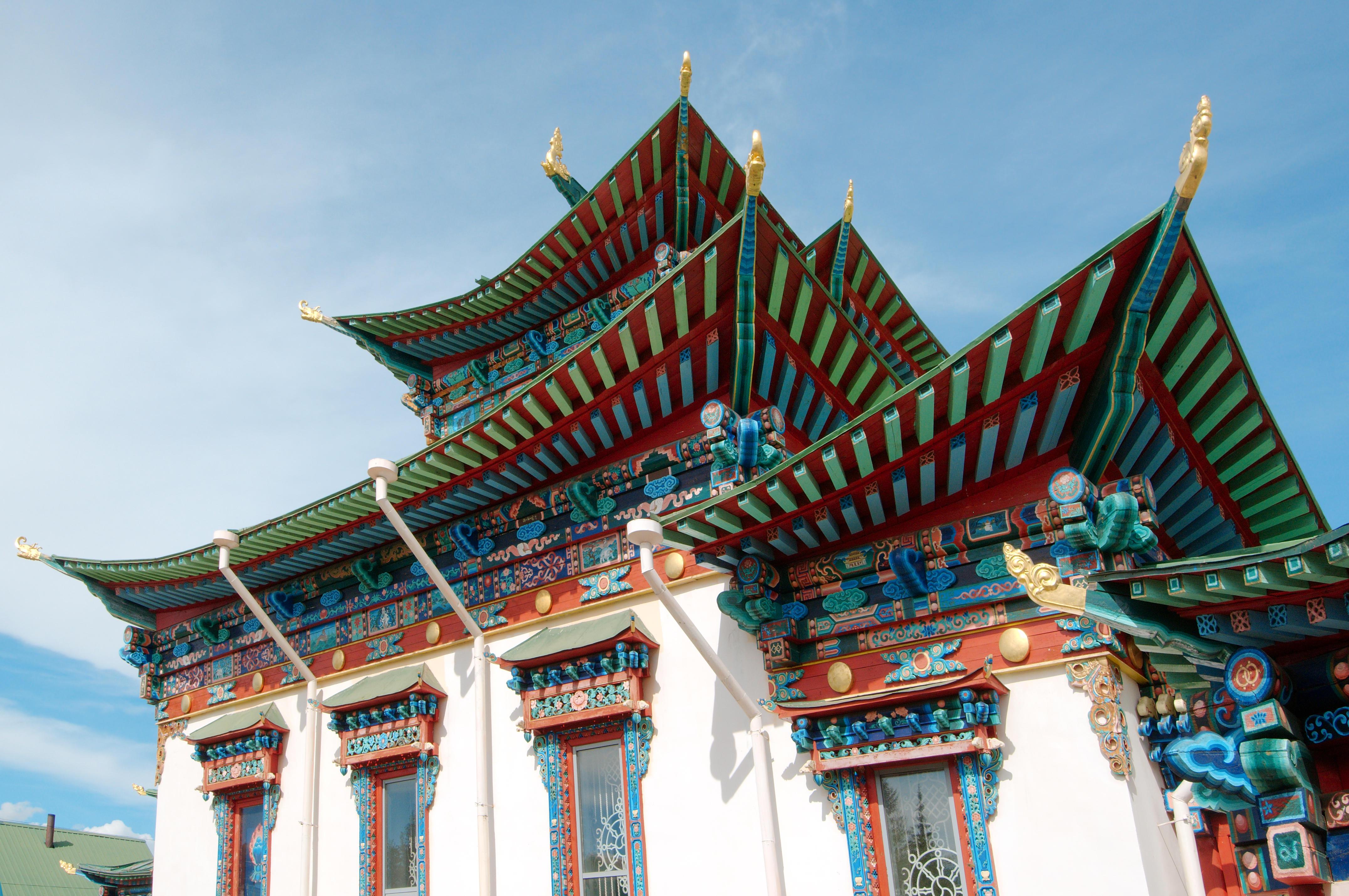 Иволгински дацан – будистки храм, Бурятия, Сибир