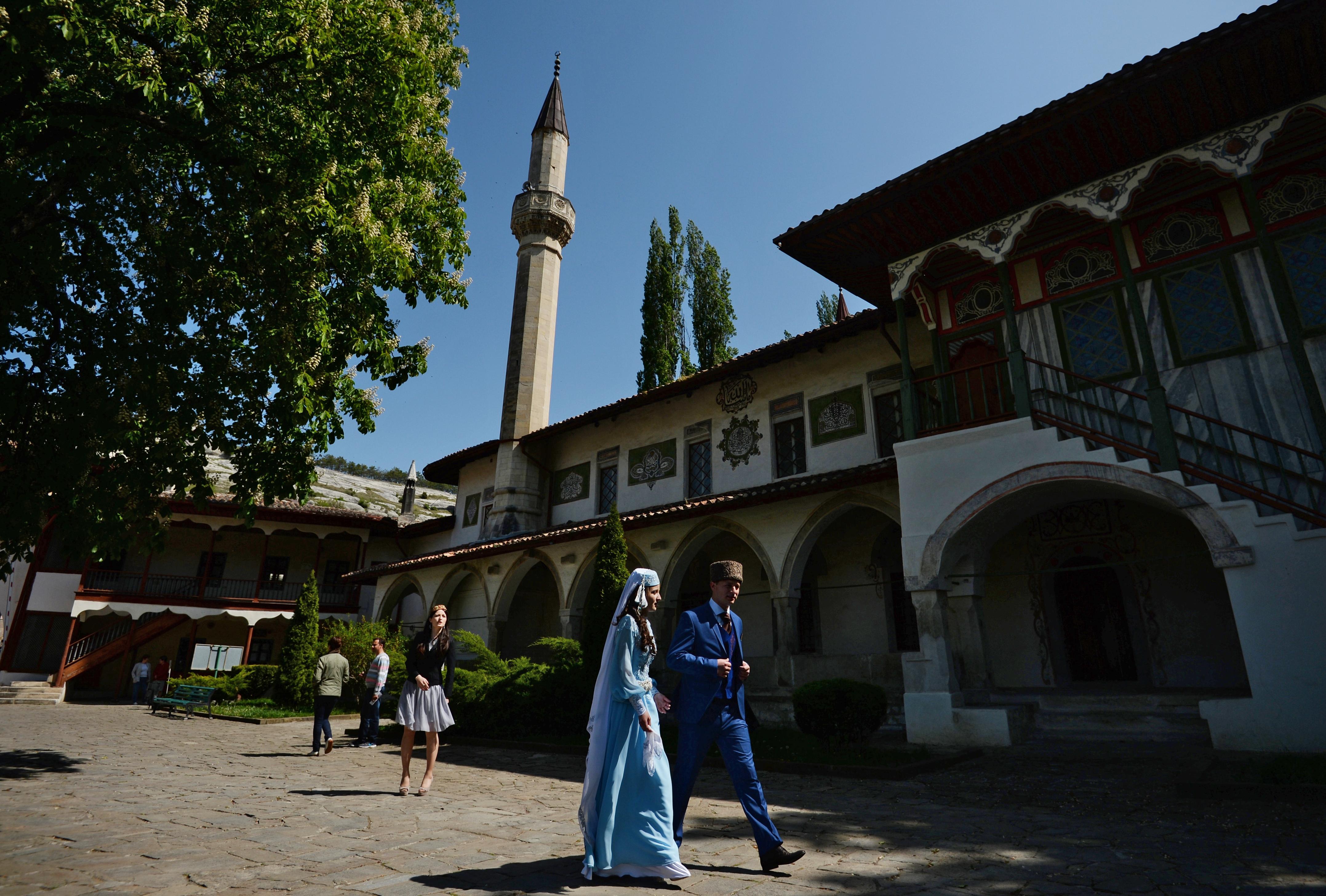 Ханският дворец в Бухчисарай, Крим.