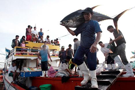 Pemerintah Rusia telah mencabut larangan impor produk hasil laut dari Indonesia sejak 17 September 2014 lalu.