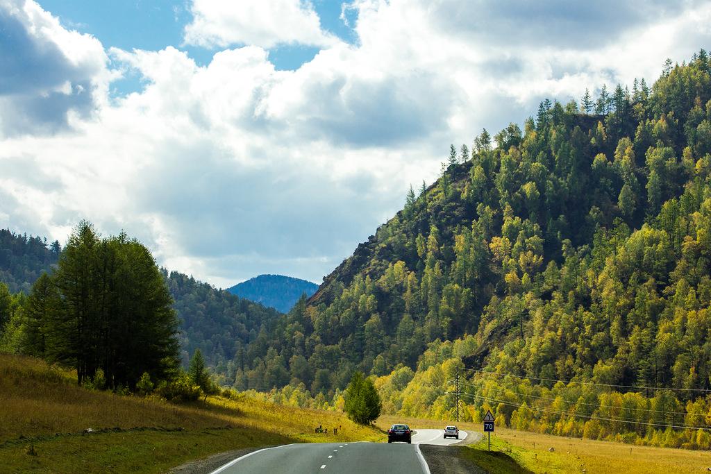 「素晴らしいシベリアの自然を楽しむためにチュイスキー・トラクトを離れる必要はない」