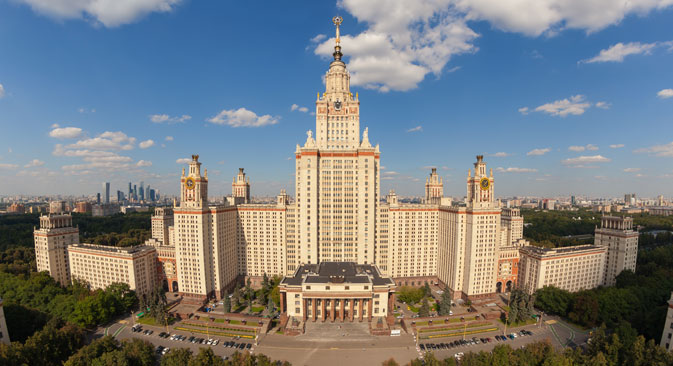 Lomonosov Moscow State University (MSU) was again placed on top of Russian universities