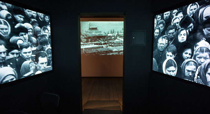 Една от най-трагичните страници от руската история е показана в интерактивна експозиция.