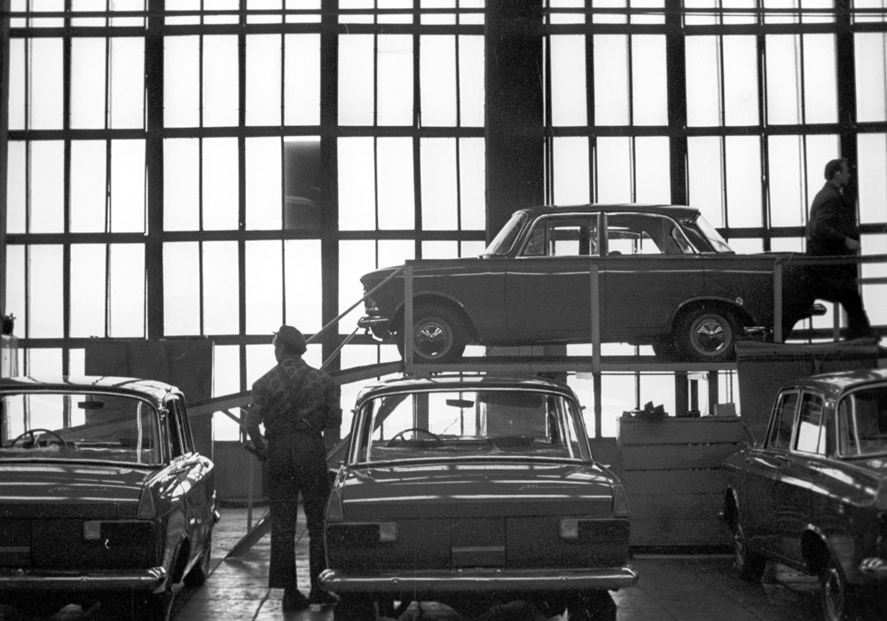 On November 6, 1930, the Soviet government proudly announced the opening of the new Moskvich automotive plant. The car factory, whose name literary means