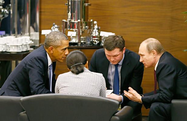 Pútin e Obama Foto: Reuters