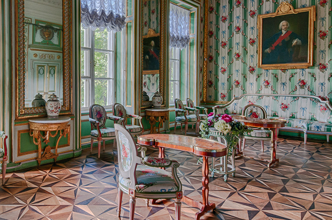 The Pearl Of Europe: Palace Interiors Of Kuskovo Estate