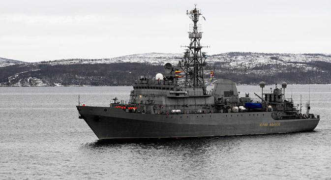 """Осматрачки брод """"Јуриј Иванов""""."""
