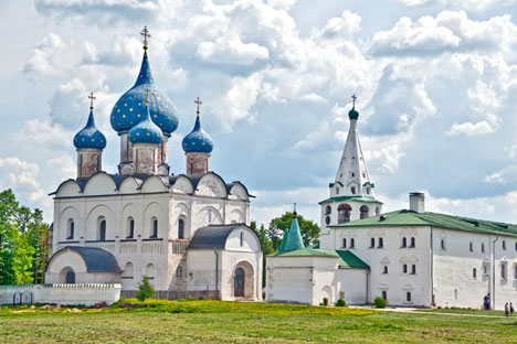 Suzdal's cathedral compound: Evocative chronicle in stone